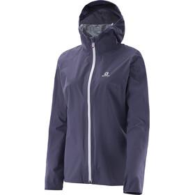 Salomon W's Bonatti WP Jacket Nightshade Grey